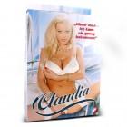 Кукла Клаудия с рыжими хвостиками (в позе сидя)
