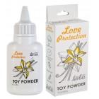 Пудра для игрушек Love Protection с ароматом ванили 30 гр
