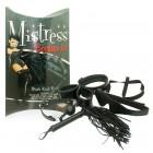 Бондажный набор черного цвета Mistress Bondage