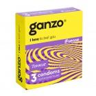 Презервативы Ganzo №3 Sense тонкие
