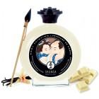 Съедобная крем-краска для тела Shunga Vanilla & Chocolate Temptation ваниль и белый шоколад 100 мл