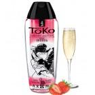 Любрикант на водной основе Shunga Toko Aroma Champagne/Strawberry клубника с шампанским 165 мл