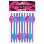 Трубочки разноцветные Original Pussy Straws