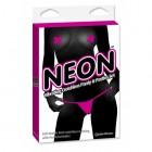 Неоновые вибро-трусики и пэстисы Panty and Pasties Set - Pink