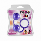Вагинальные шарики Kegel ball purple