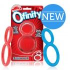 Прозрачное двухпетельное кольцо Ofinity