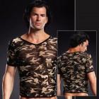 Сетчатая футболка камуфляж L/XL